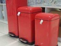 DUSTBIN RED