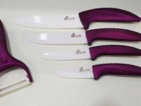 knife sets purple