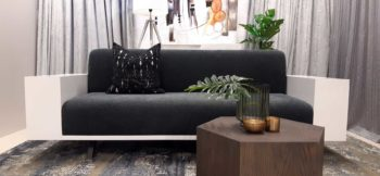 Mietta Venus - 3 Seater Couch Styled