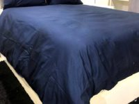 hotel collectiong blue duvet cover set