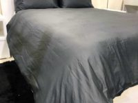 hotel collectiong charcoal duvet cover set