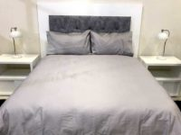 hotel collectiong silver duvet cover set