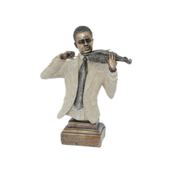 Musician With Violin 38cm