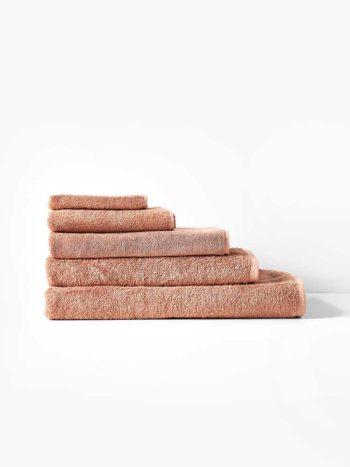 NARA BAMBOO TOWEL SET CLAY
