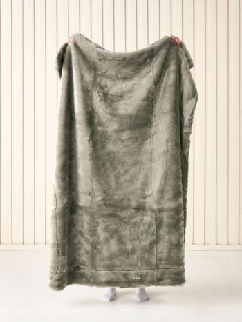 Linen House Selma Throw Wasabi